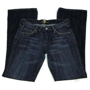 "SFAM 7 for all mankind ""A"" pocket bootcut jean"